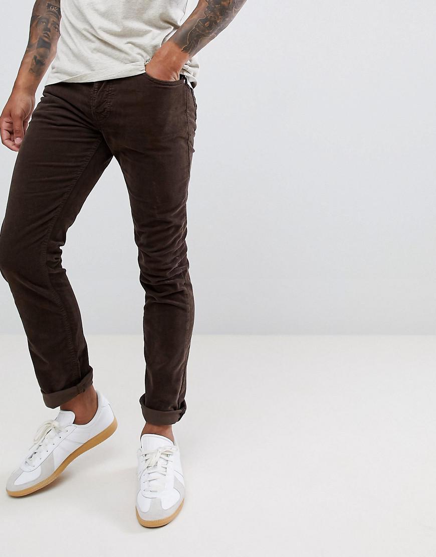 027537df Nudie Jeans Brown in Brown for Men - Lyst