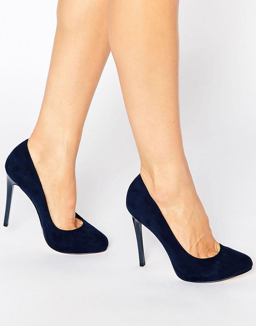 Faith Blue Court Shoes