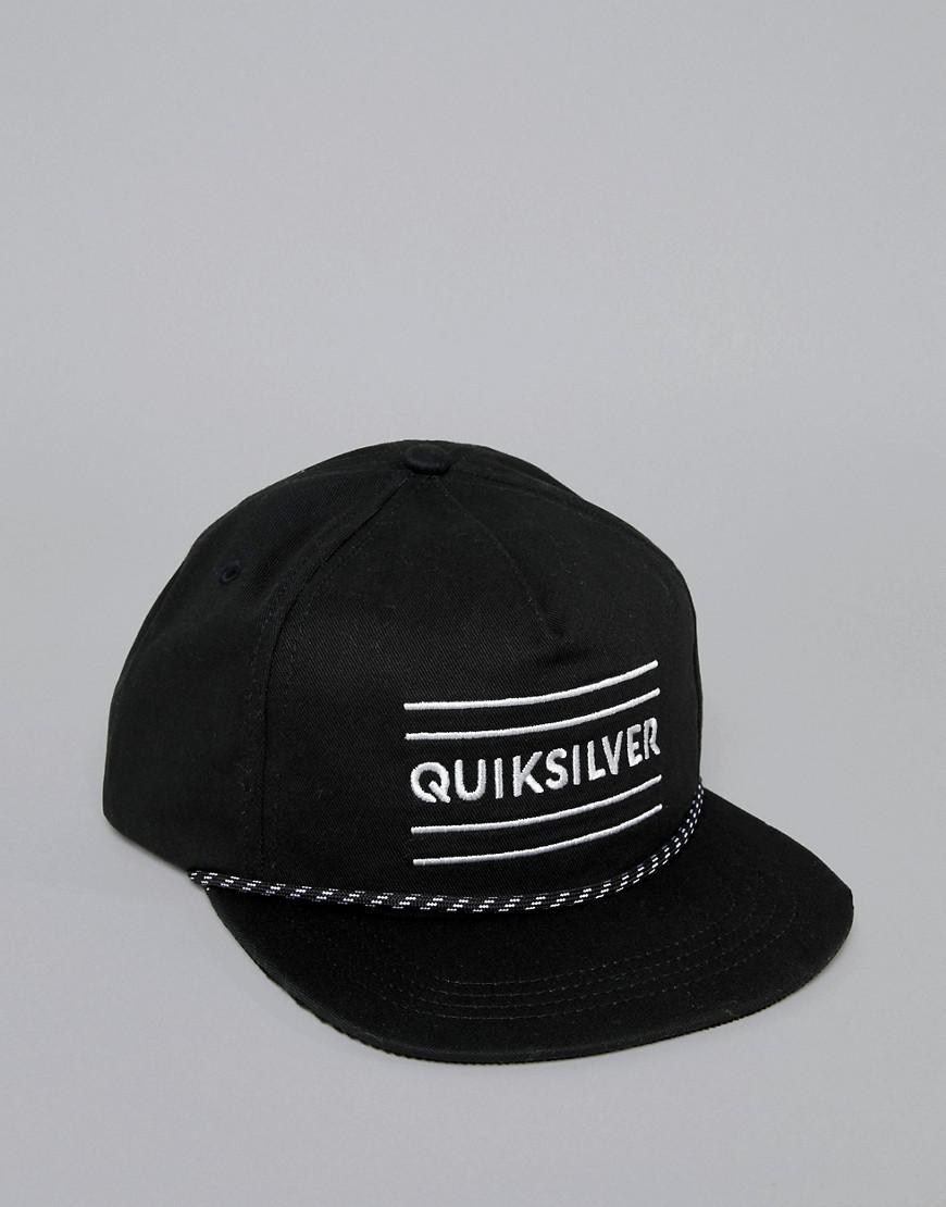 outlet store 87d23 872fe Quiksilver Cap In Black in Black for Men - Lyst