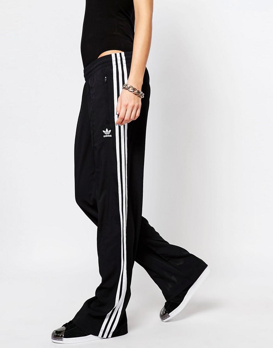 Adidas Originals Originals 3 Stripe Wide Leg Track Pants