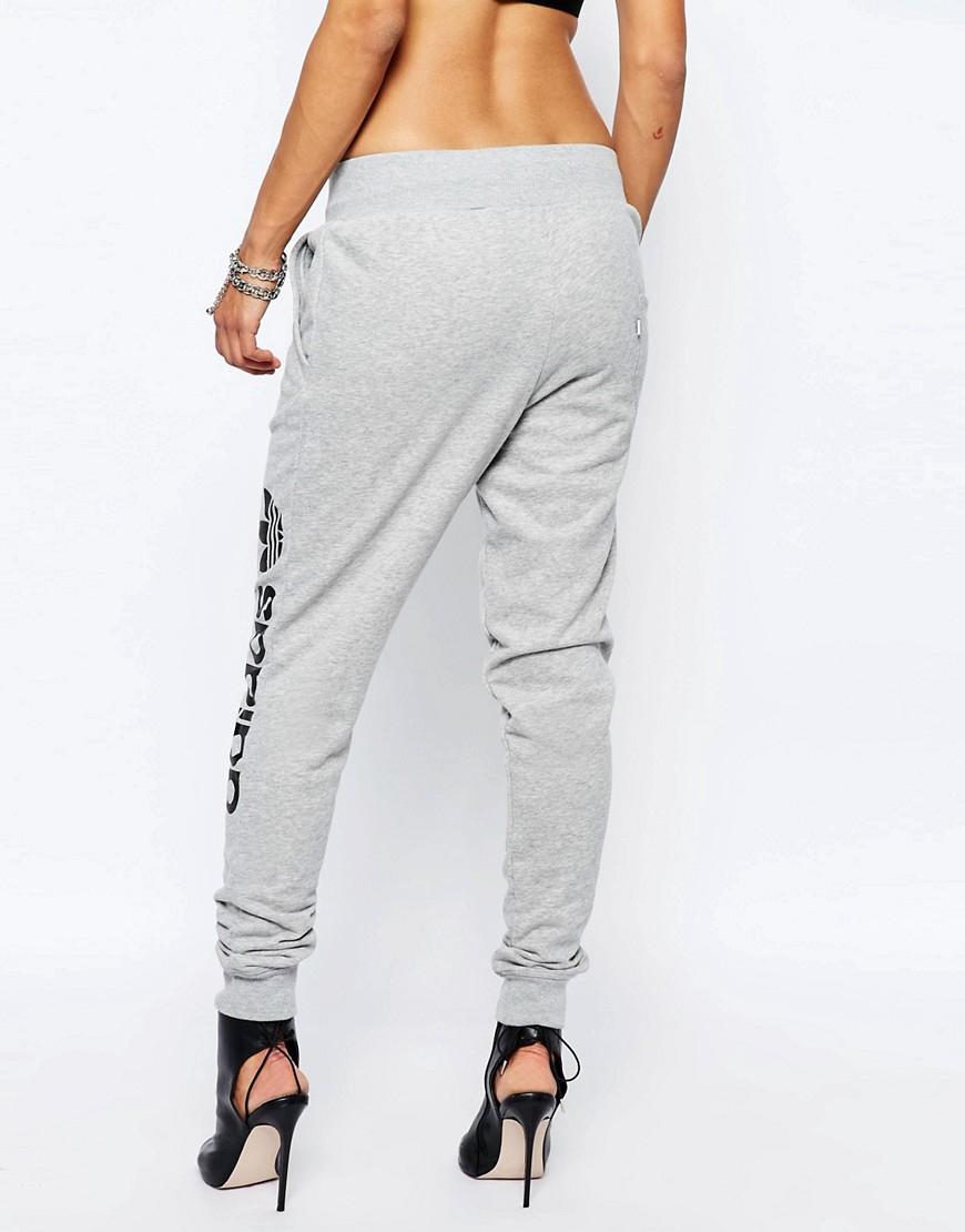 Womens Grey Baggy Sweatpants | RT LTD