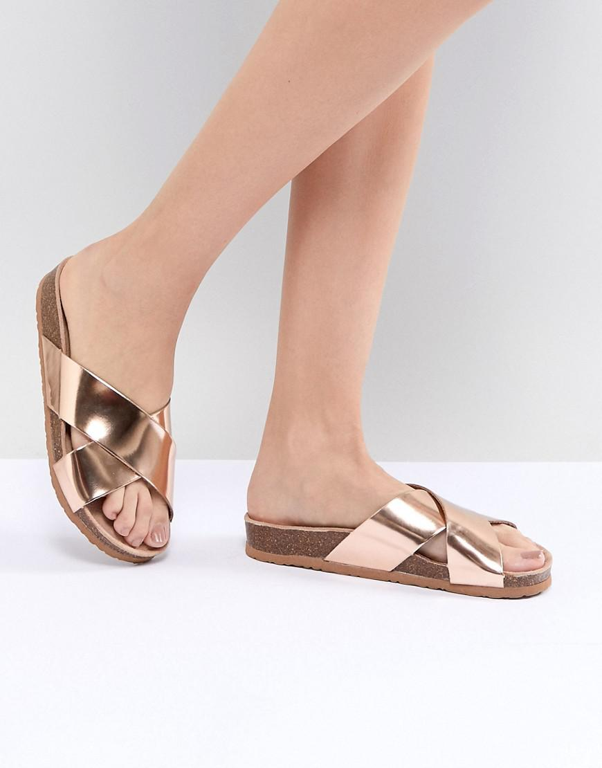 with paypal sale online big sale cheap price South Beach Rose Gold Gladiator Sandals free shipping 2015 new free shipping latest hot sale cheap price 9GZTo