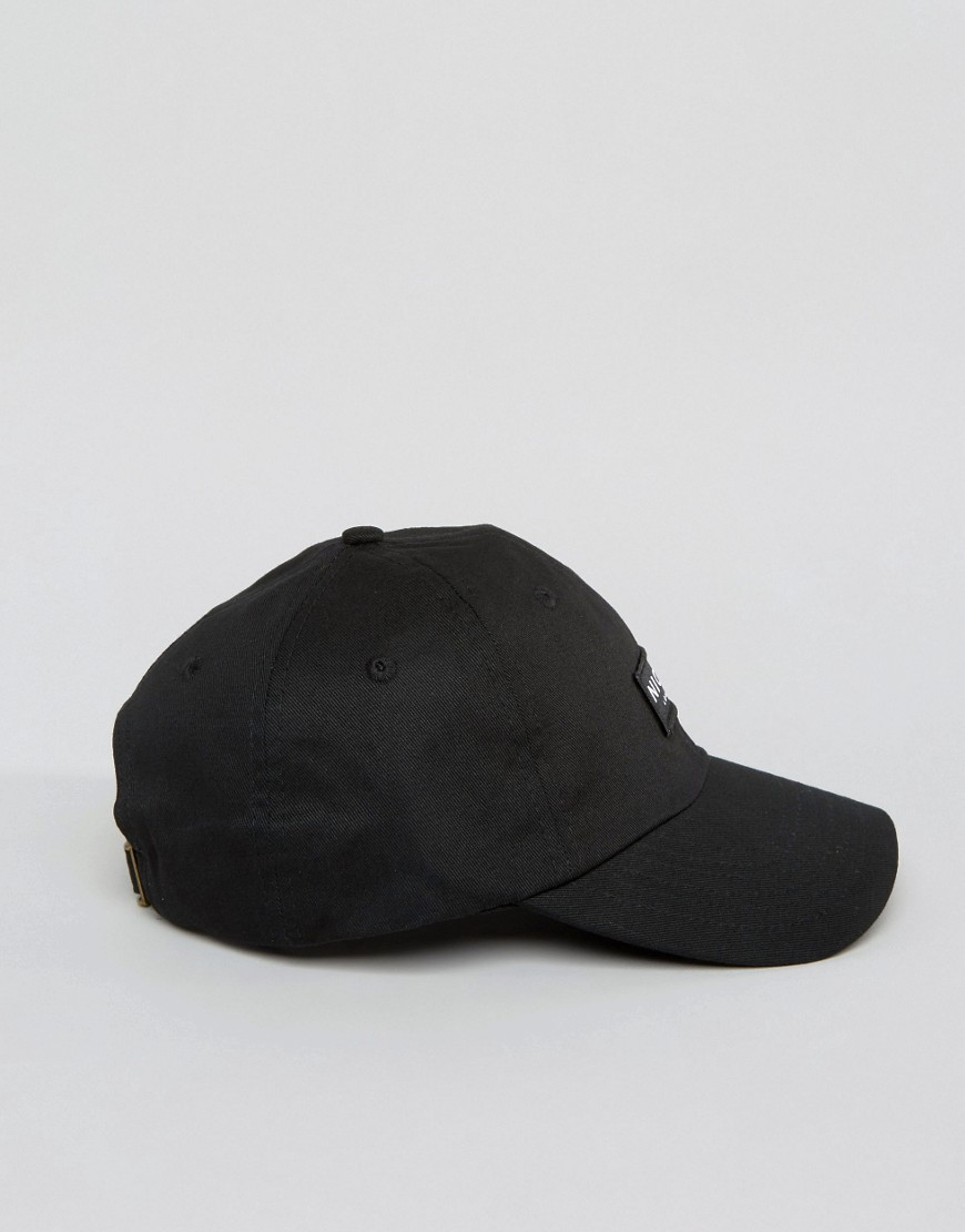 c49cb3dad06 Lyst - Nicce London Nicce Baseball Cap In Black in Black for Men