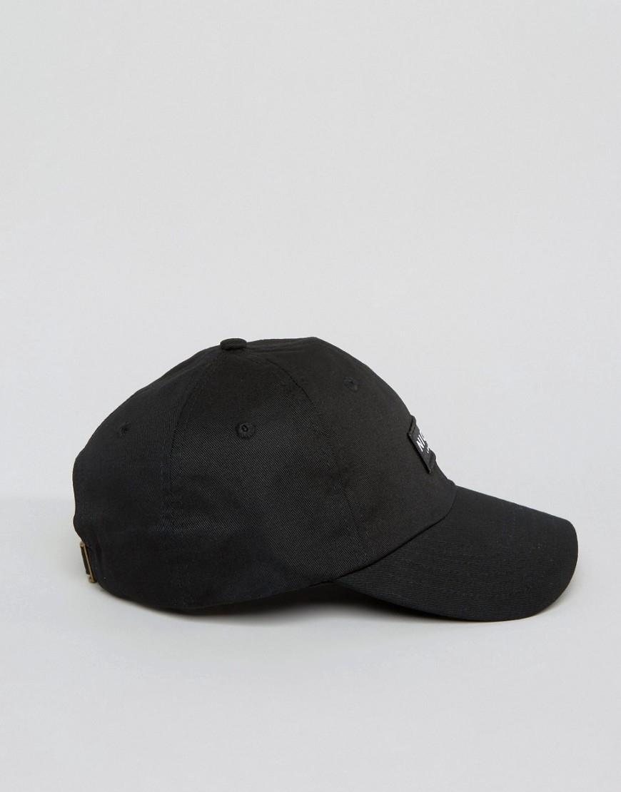 c49cb3dad06 Lyst - Nicce London Nicce Baseball Cap In Black in Black for Men