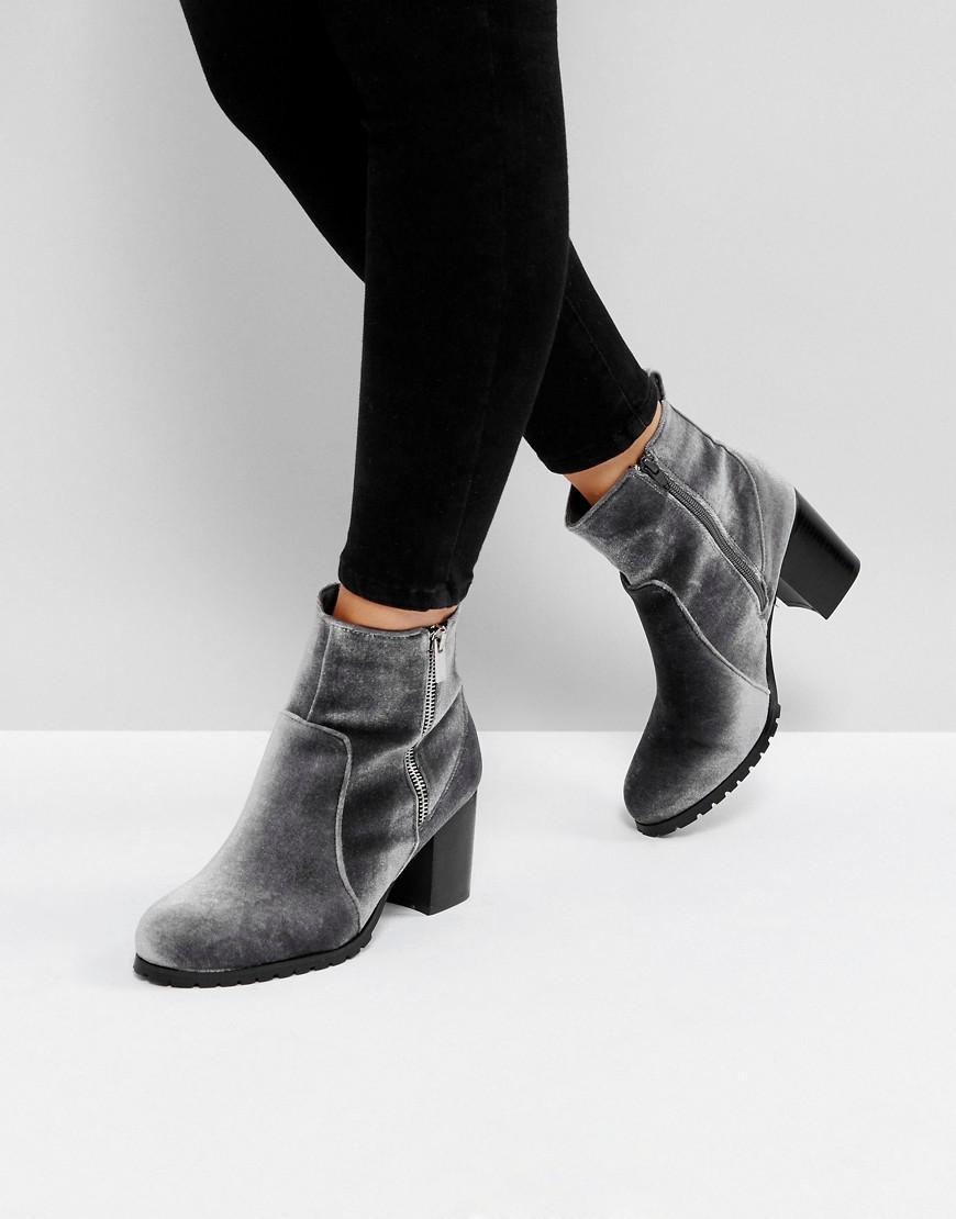 Dune Pipaa Velvet Boots XaqHP7U