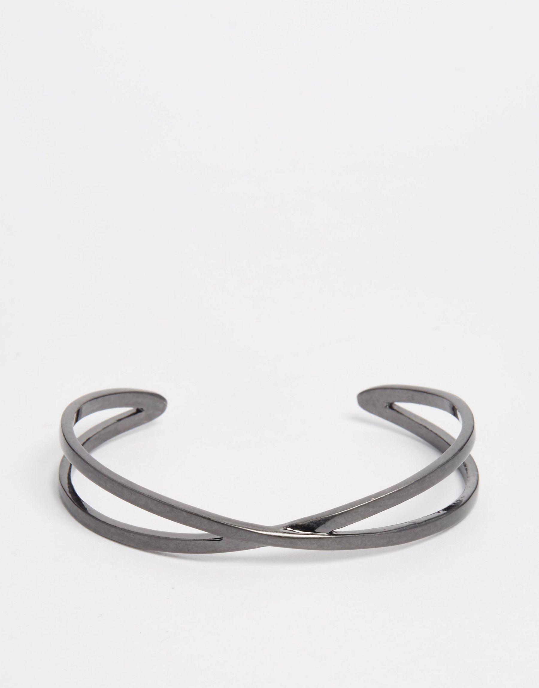 Pilgrim Cross Bracelet Lyst