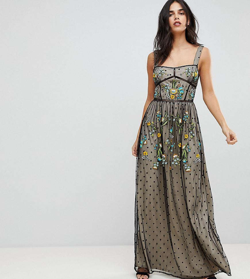 Womens Arie Embroidered Maxi Dress Frock and Frill Discount 2018 New Reliable Sale Online Discounts Cheap Online Outlet With Paypal Low Cost Sale Online tNpP3aYd5