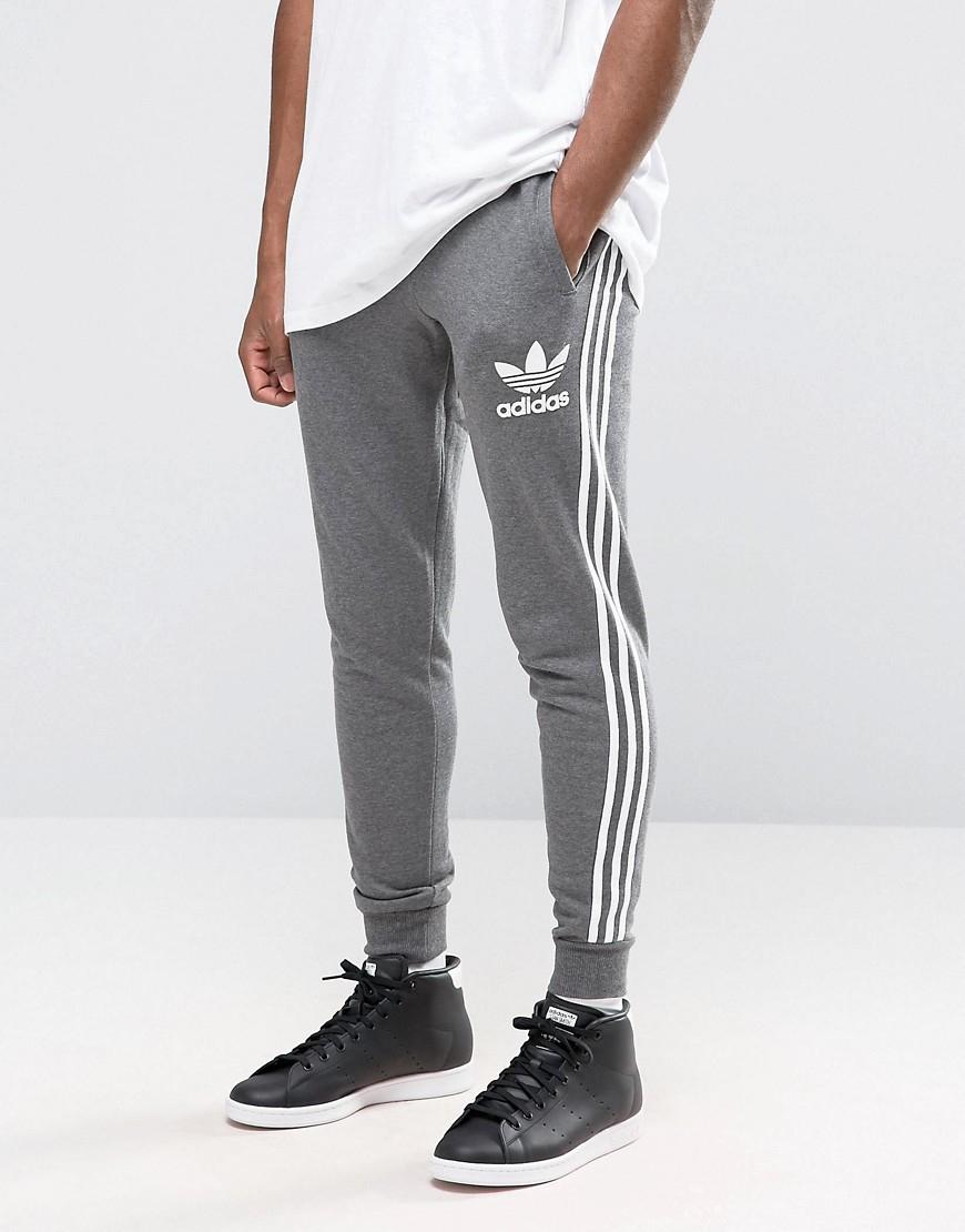 427d3e55b68 Lyst - adidas Originals Trefoil Joggers Ay7782 in Gray for Men