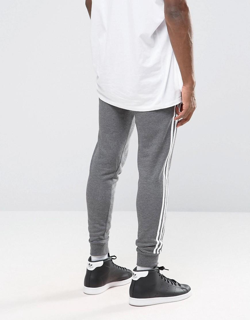 Lyst Adidas Originals Trefoil Joggers Ay7782 In Gray For Men