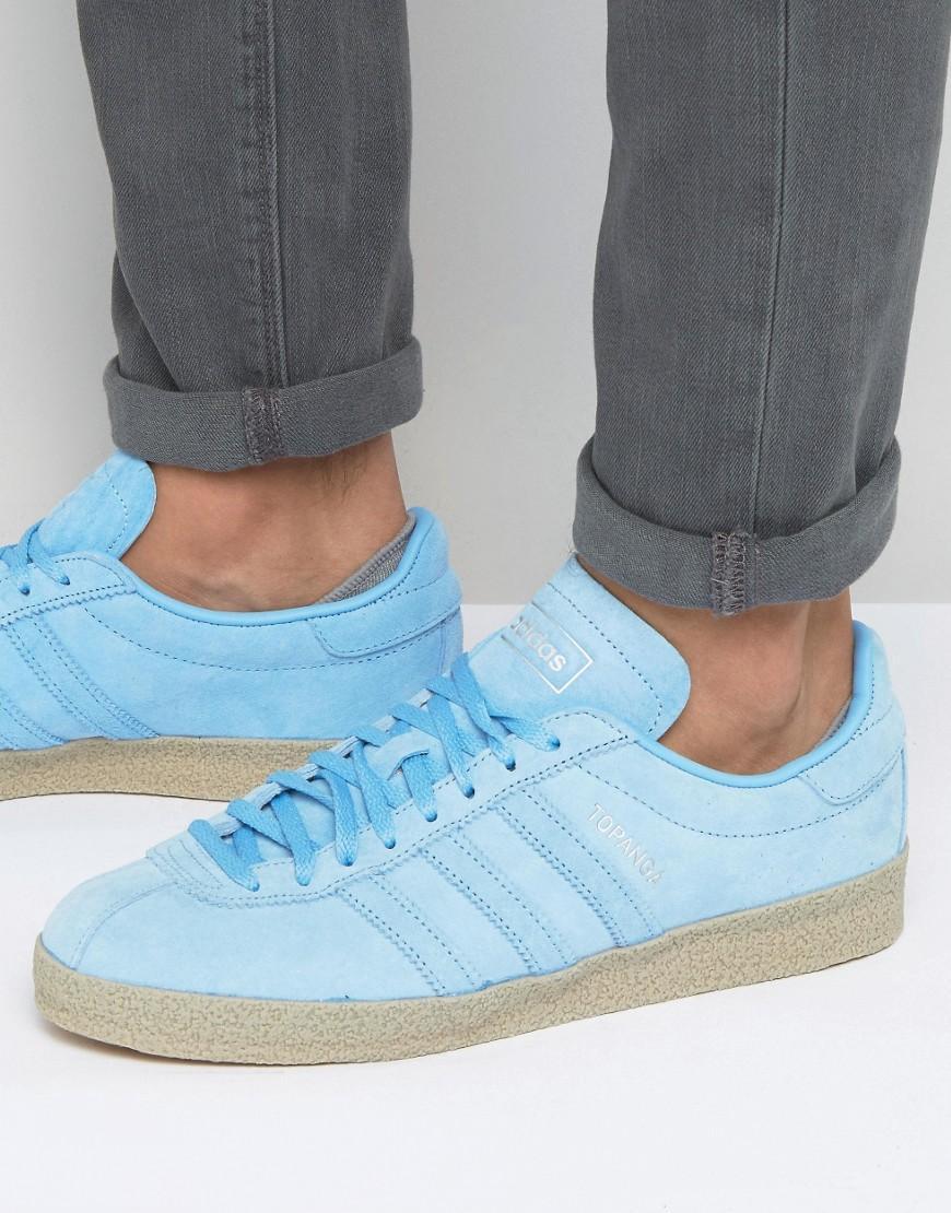 lyst adidas originals topanga ausbilder in blau s80057 in blau für männer