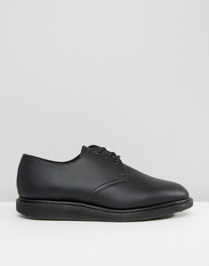 Dr Martens Bold Men Us  Black Work Shoe