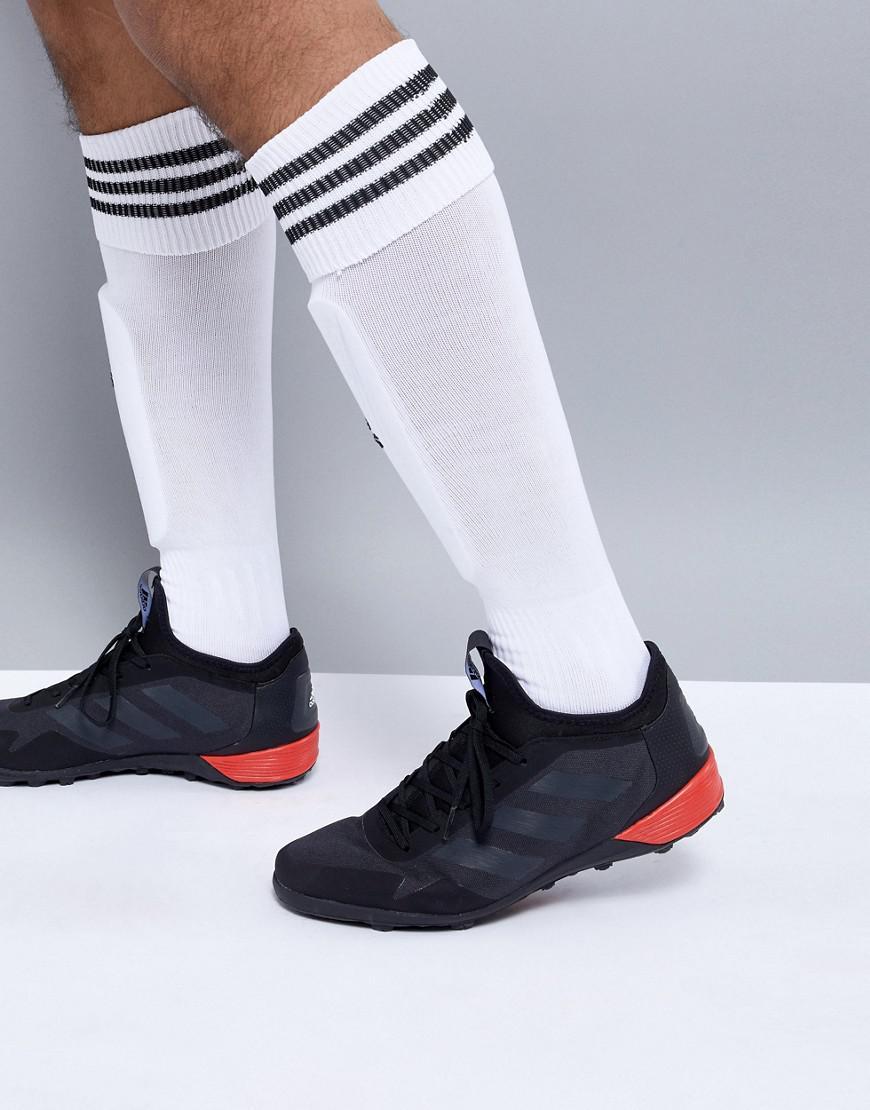 lyst adidas tango indoor soccer scarpe ace in nero per gli uomini.