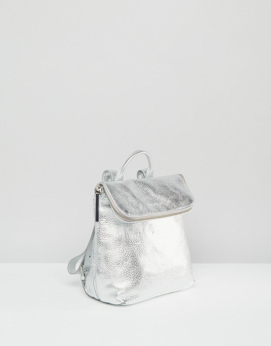 a8b9f05d76b2 Whistles Mini Silver Backpack | Building Materials Bargain Center