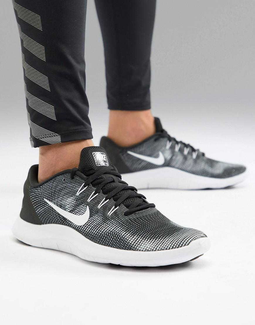 fbadb8f5ffd7 Nike Flex 2018 Trainers In Black Aa7397-001 in Black for Men - Lyst