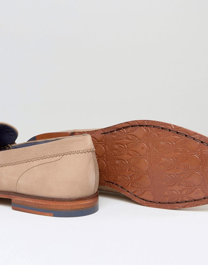 Miicke 5 Nubuck Loafers - Tan Ted Baker dTnXiFstW