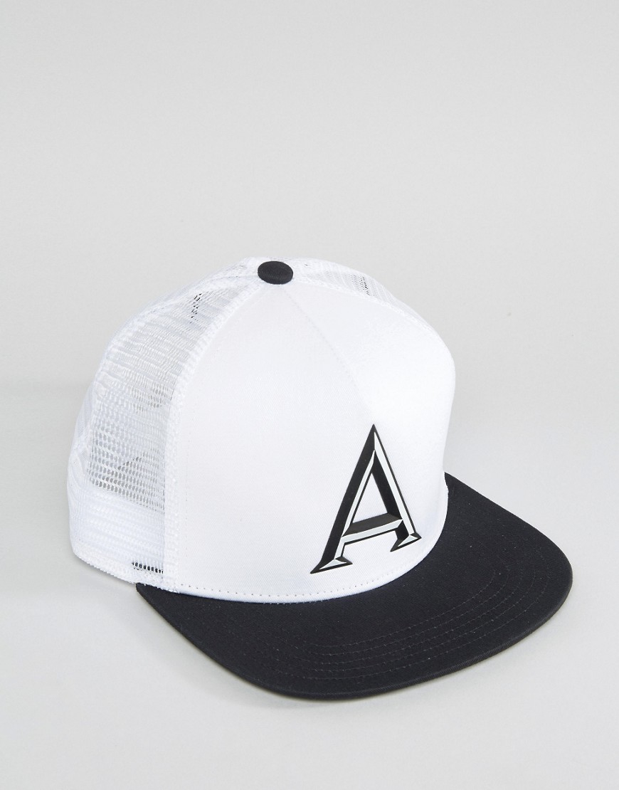 1851322a9effc1 adidas Originals Snapback Cap In White Ay9380 - White in White for ...