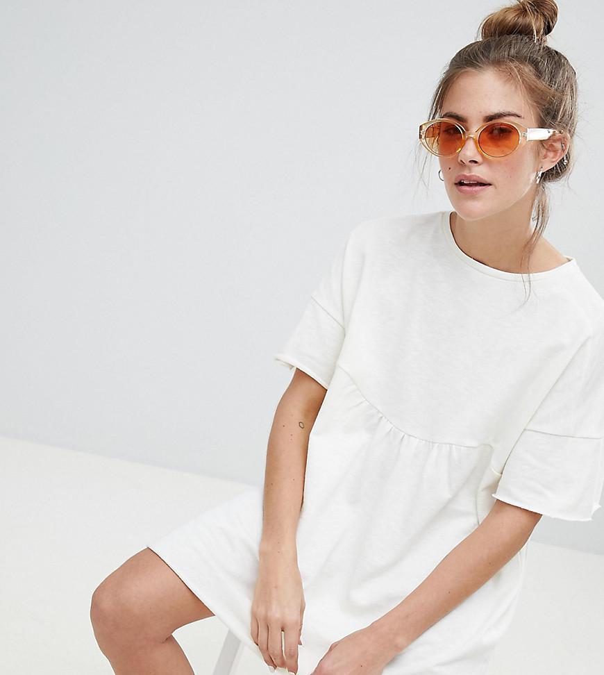 2efce65ba862f Pull Bear Organic Cotton Cami Top In Stripe in White - Lyst