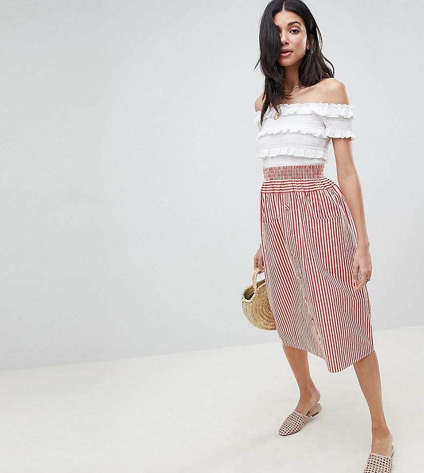 29a0bdf81 Asos Design Petite Midi Skirt With Box Pleats | Huston Fislar ...