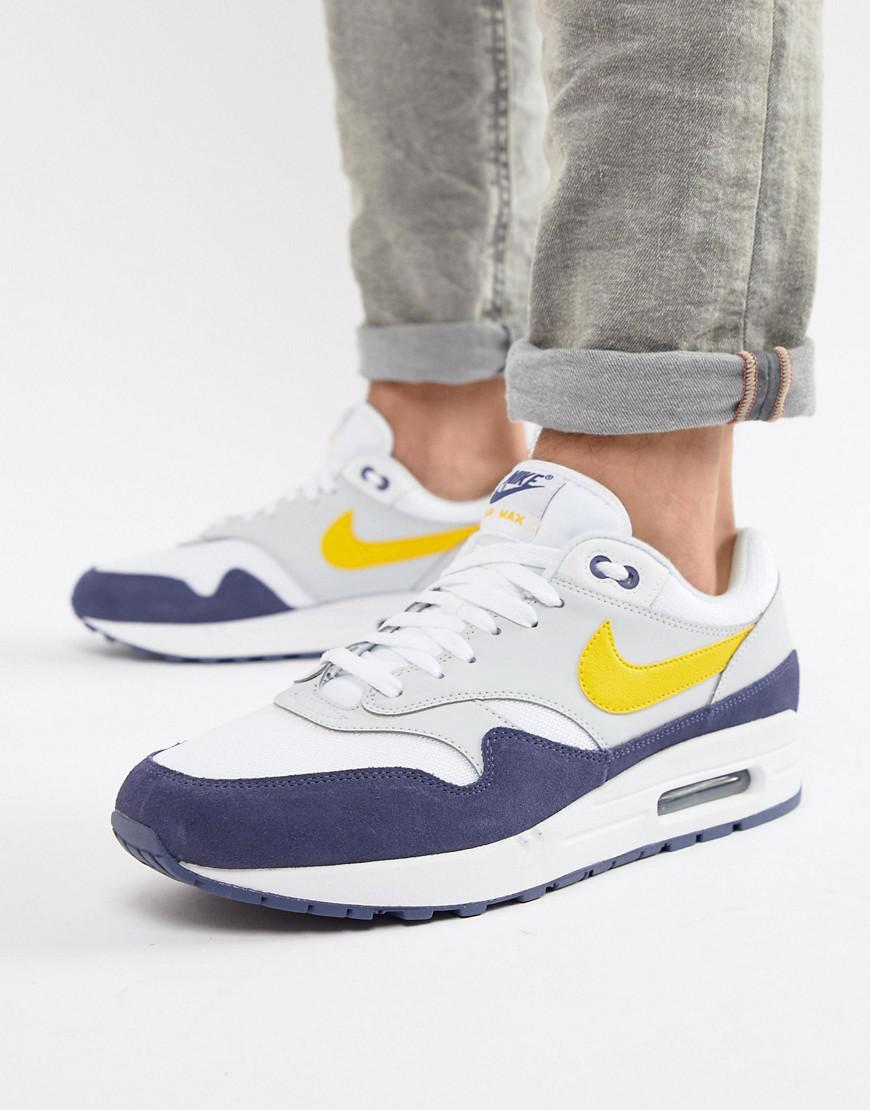 new product 386d2 c1aad Nike Air Max 1 Sneakers In White Ah8145-105 in White for Men - Lyst