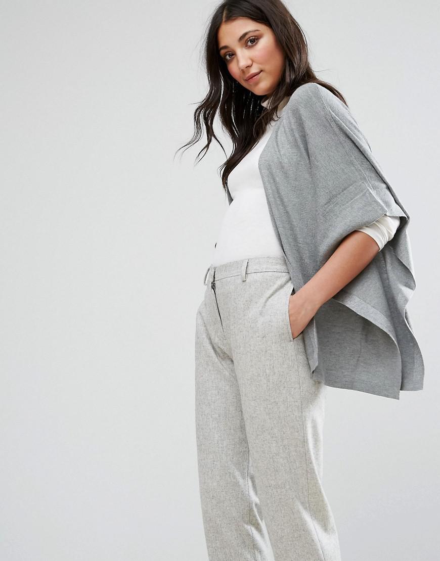 Lavand Kimono Sleeve Cardigan in Gray | Lyst