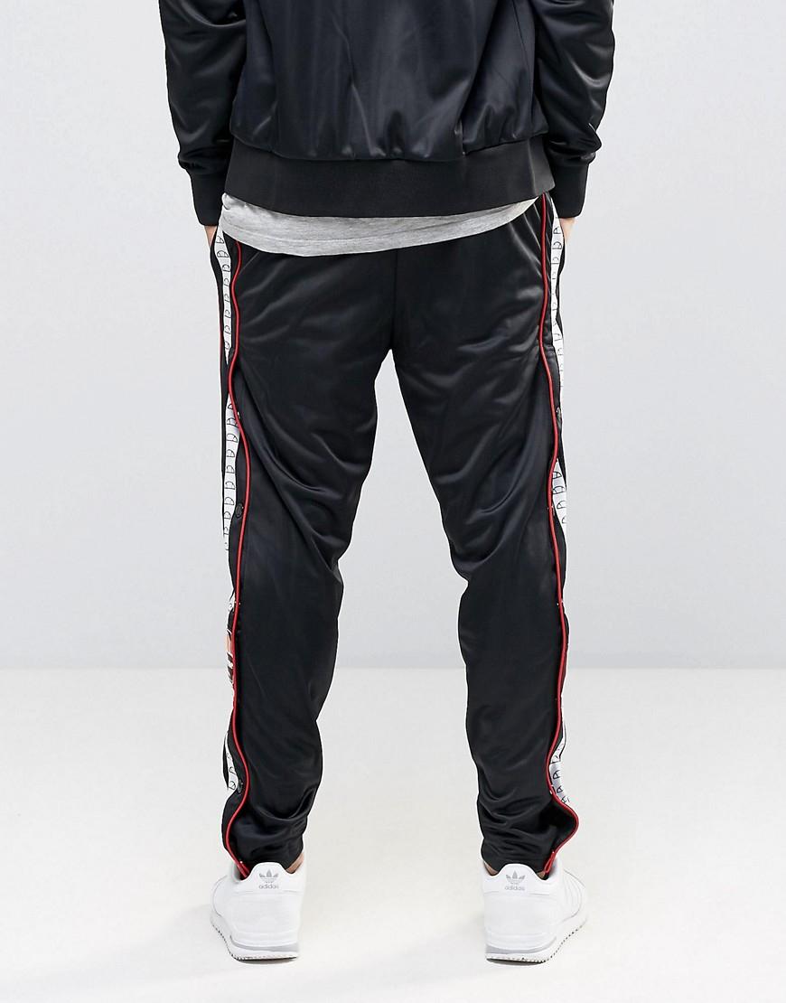 e31bb85dffbd Ellesse Popper Joggers in Black for Men - Lyst