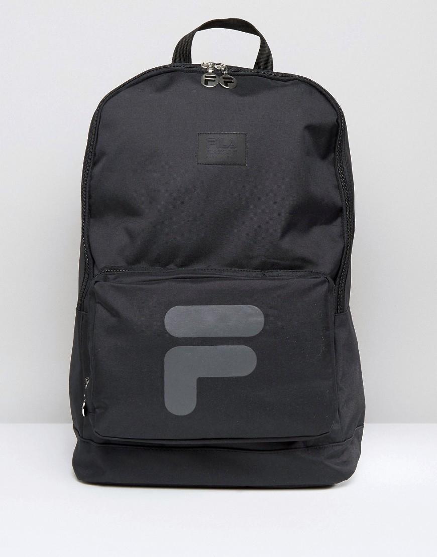 5be9cf8075 Fila Black Line Backpack in Black for Men - Lyst