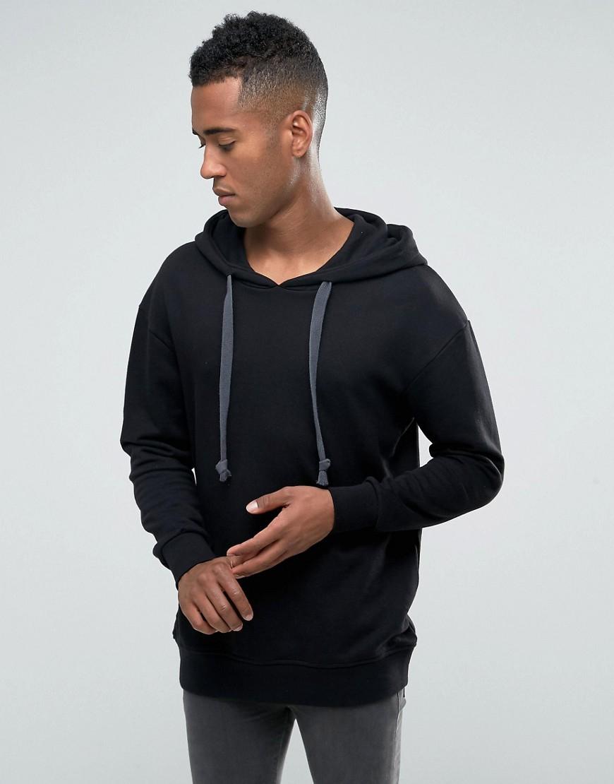 jack jones originals hoodie with drawstring hood in. Black Bedroom Furniture Sets. Home Design Ideas