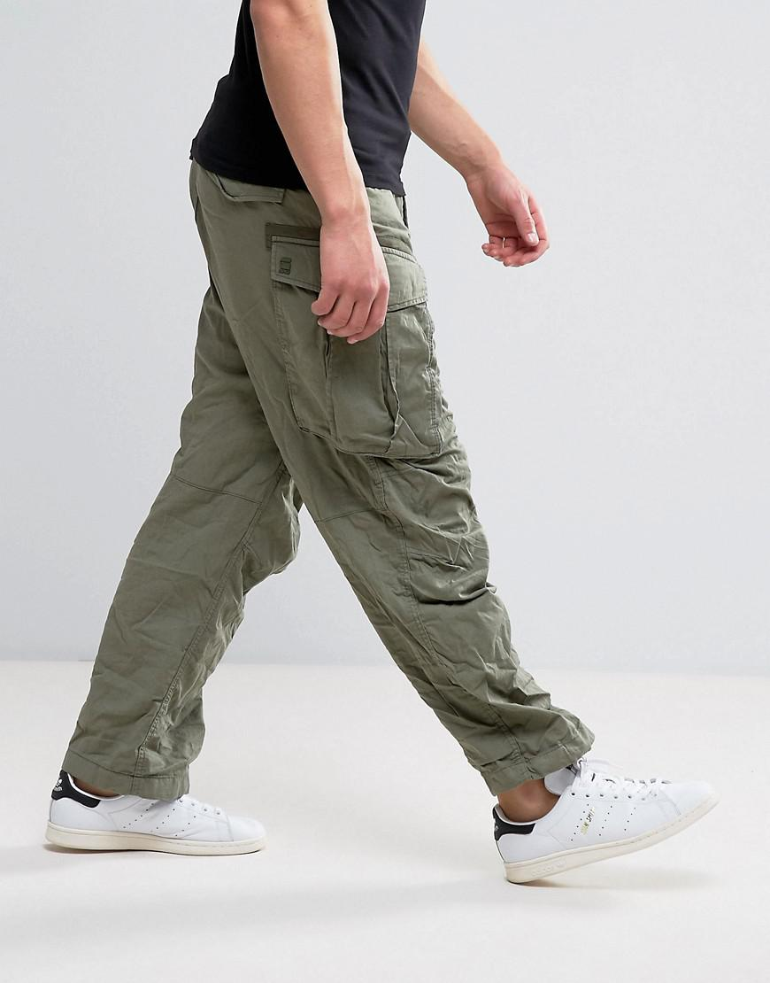 value for money enjoy clearance price durable modeling G-Star RAW Green Rovic Parachute Cargo Pant for men