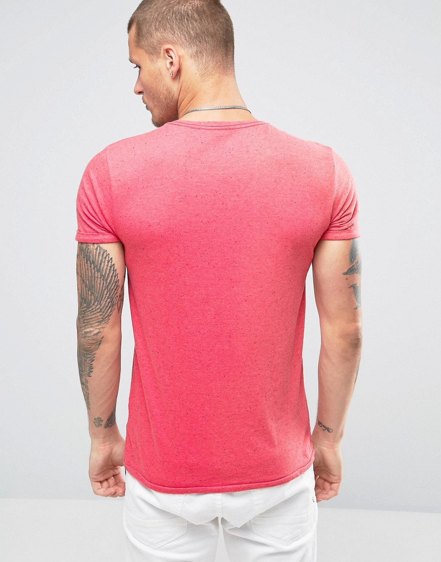 Lyst Scotch Soda Scotch And Soda Printed T Shirt In Pink For Men