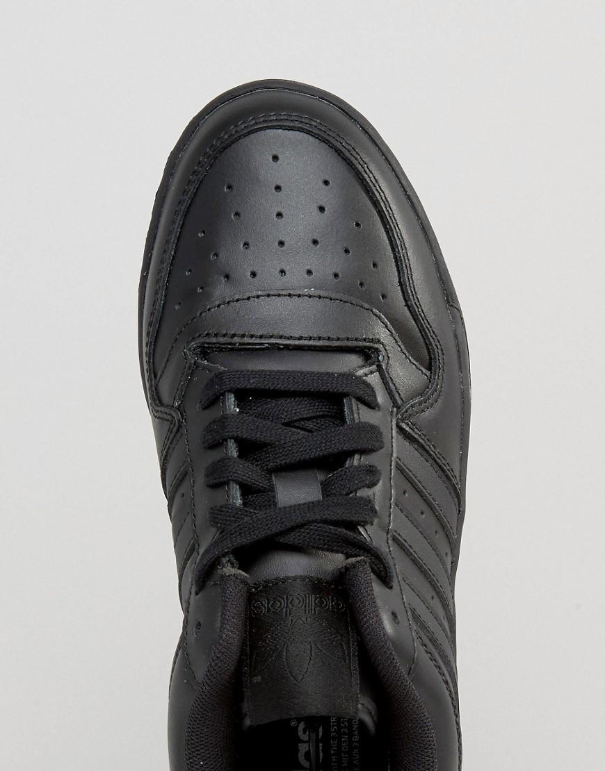 Lyst Adidas Originali M Atteggiamento Rianimare Basso Alto Formatori Nero