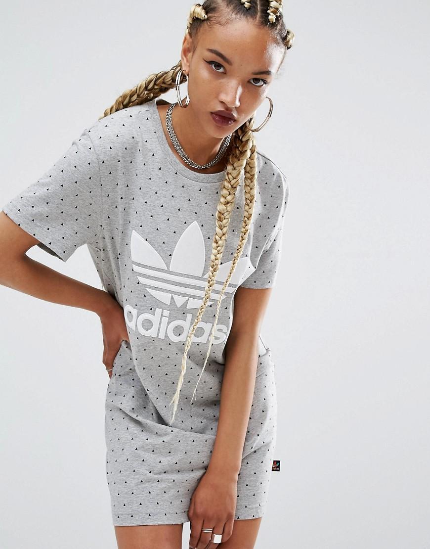 903f1cf956ff Adidas Black And White T Shirt Dress
