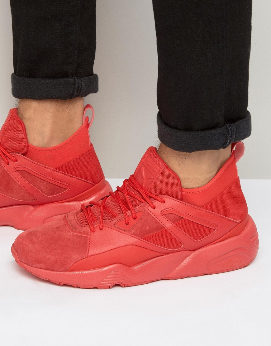 5e158916502 Lyst - PUMA Blaze Of Glory Sock Trainers In Red 36203803 in Red for Men