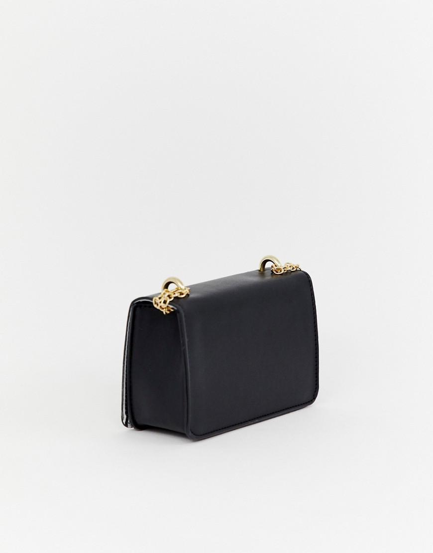faed8b3a4 Yoki Fashion Yoki Faux Pearl Embellished Mini Cross Body Bag in ...