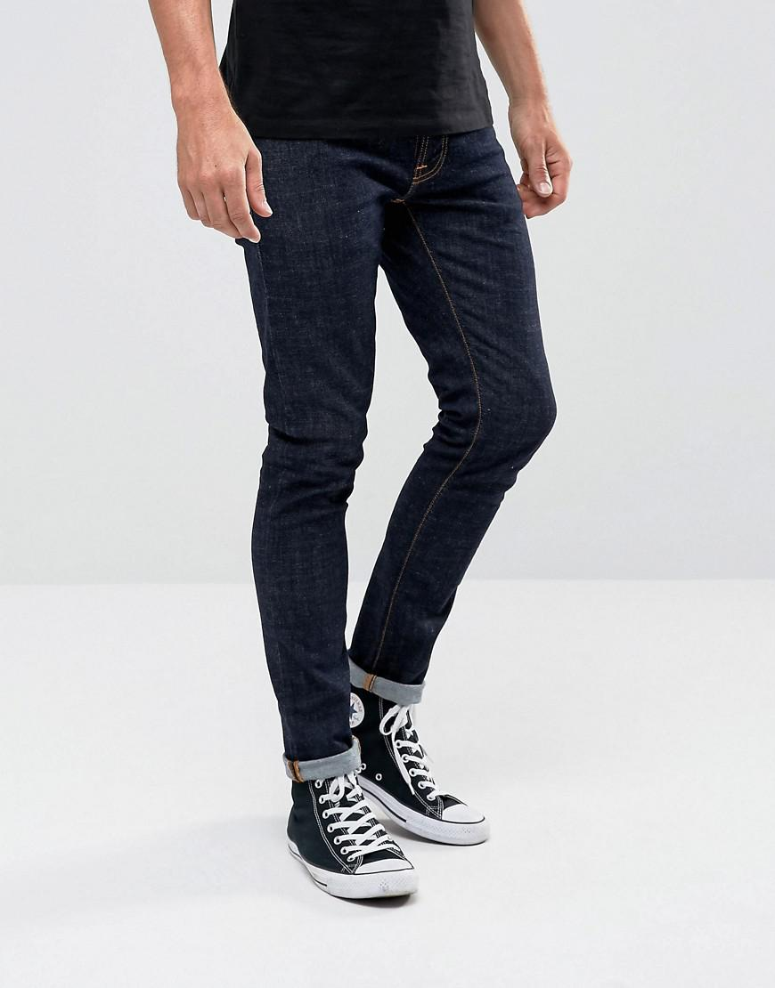 272e7f9d51ce Nudie Jeans Co Tight Terry Super Skinny Jean Rinse Twill Wash in ...