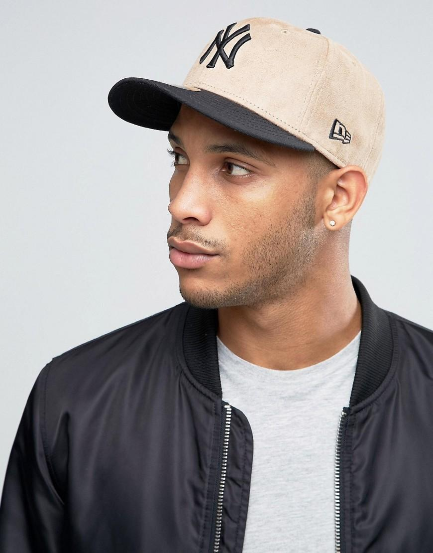 Lyst - KTZ 59fifty Ny Yankees Fitted Cap In Melton Wool in Brown for Men 86101228d276