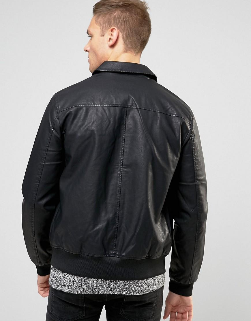 Newlook leather jackets