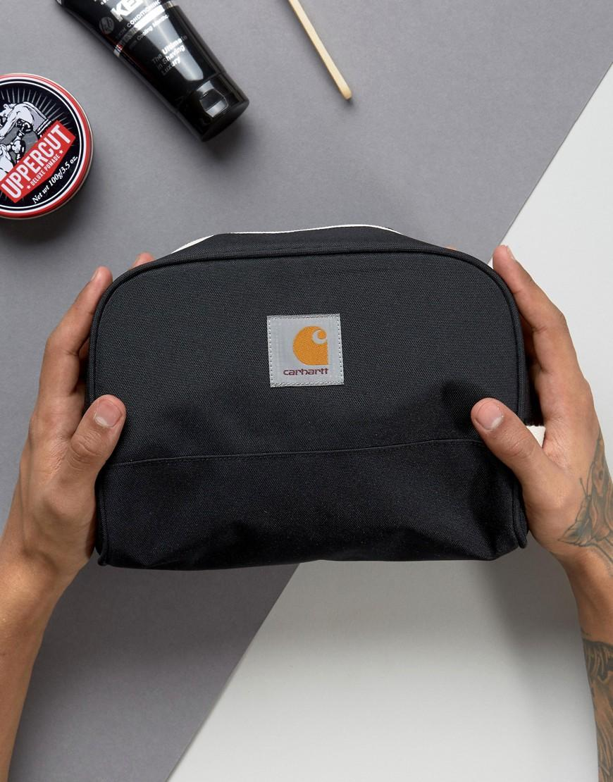 a6ab5d3f9e9 Carhartt WIP Carhartt Watch Toiletry Bag In Black in Black for Men ...