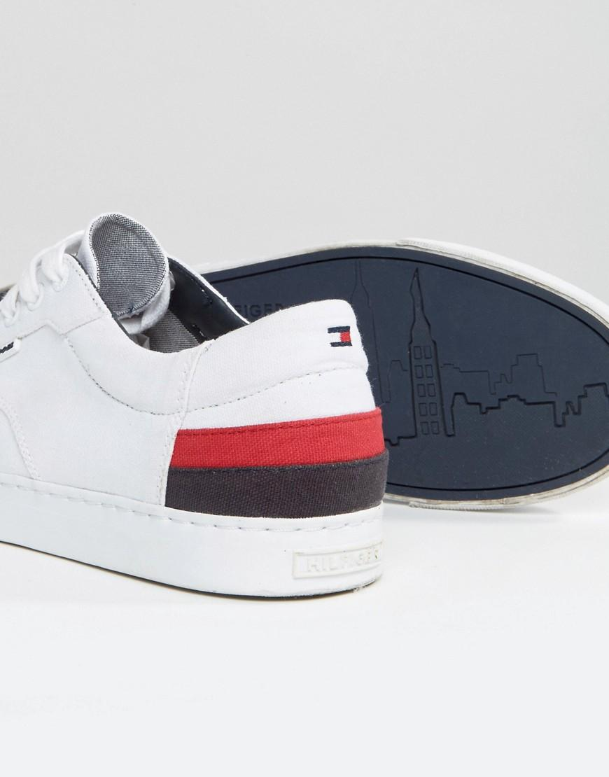 27a0f878 Tommy Hilfiger Jay Leather Sneakers in White for Men - Lyst