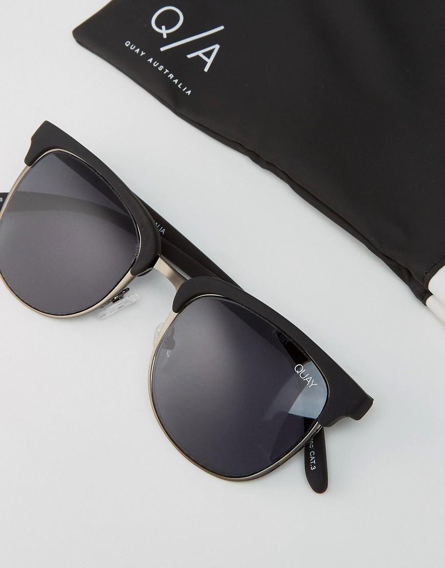 d721880a6f Quay Retro Sunglasses Flint in Black for Men - Lyst