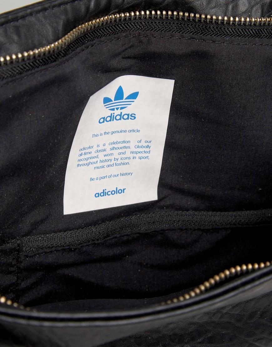 e81c2016b8 Lyst - adidas Originals Top Backpack In Black Bk6941 in Black for Men