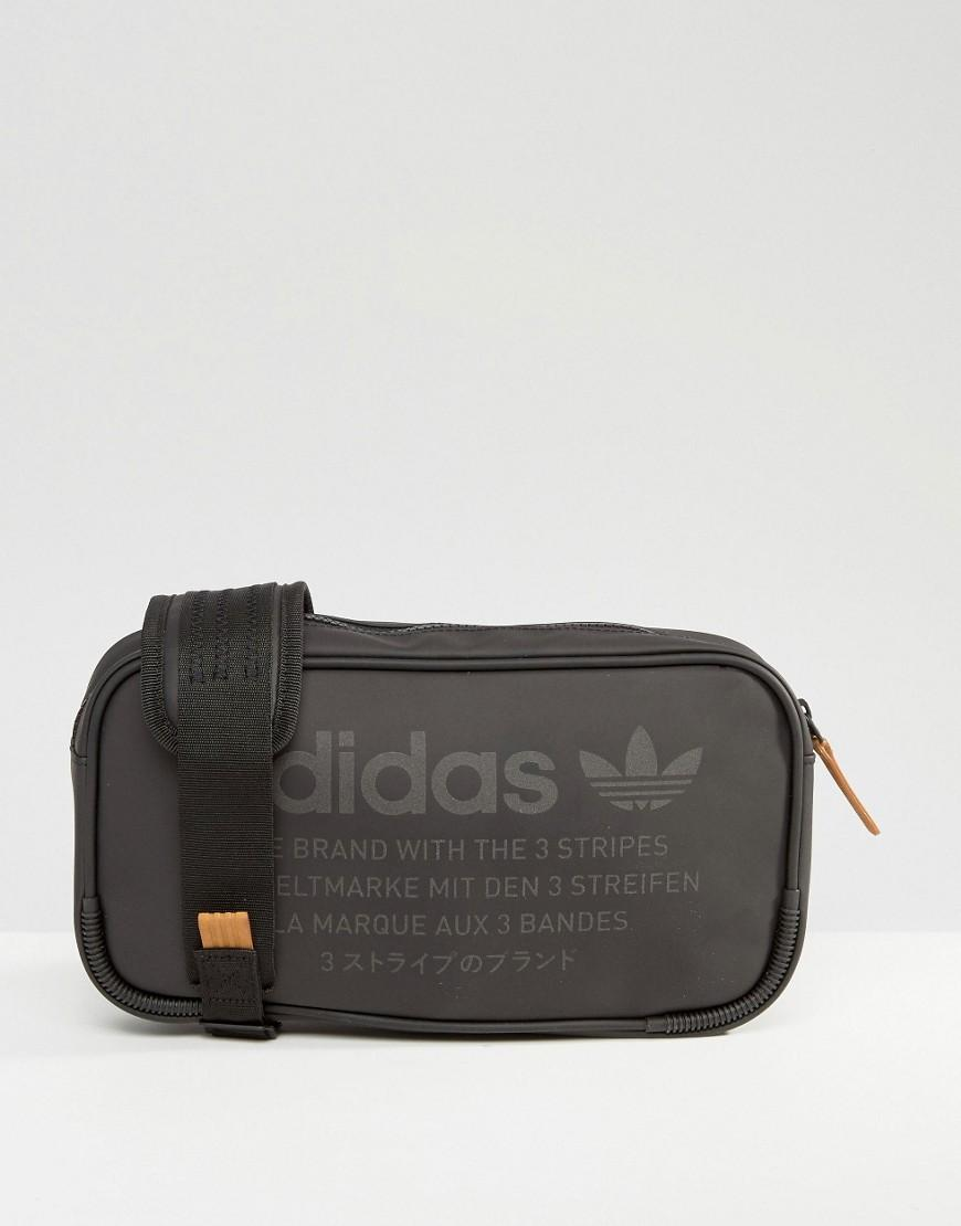 aaac500412 adidas nmd black leather pouch
