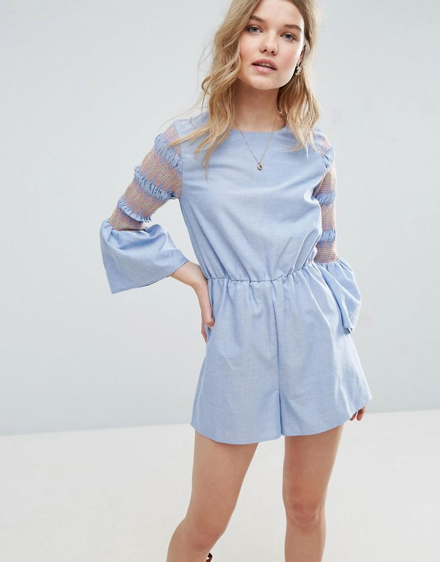 Find womens rompers with sleeves at ShopStyle. Shop the latest collection of womens rompers with sleeves from the most popular stores - all in one.