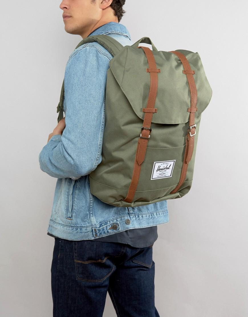 acb9193fab Lyst - Herschel Supply Co. Retreat Backpack 19.5l in Green for Men