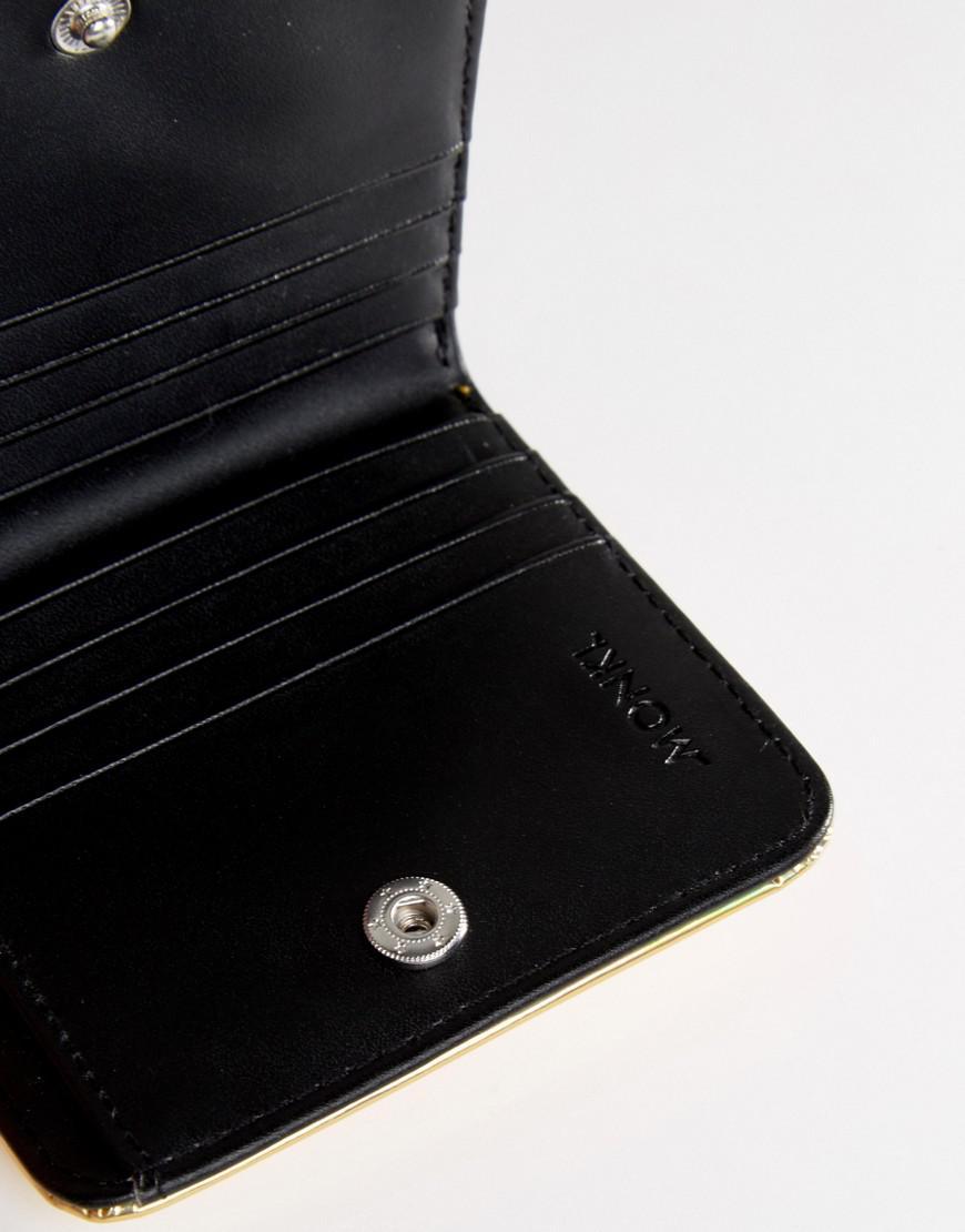 Metallic Zip Purse - Gold Monki tkizF