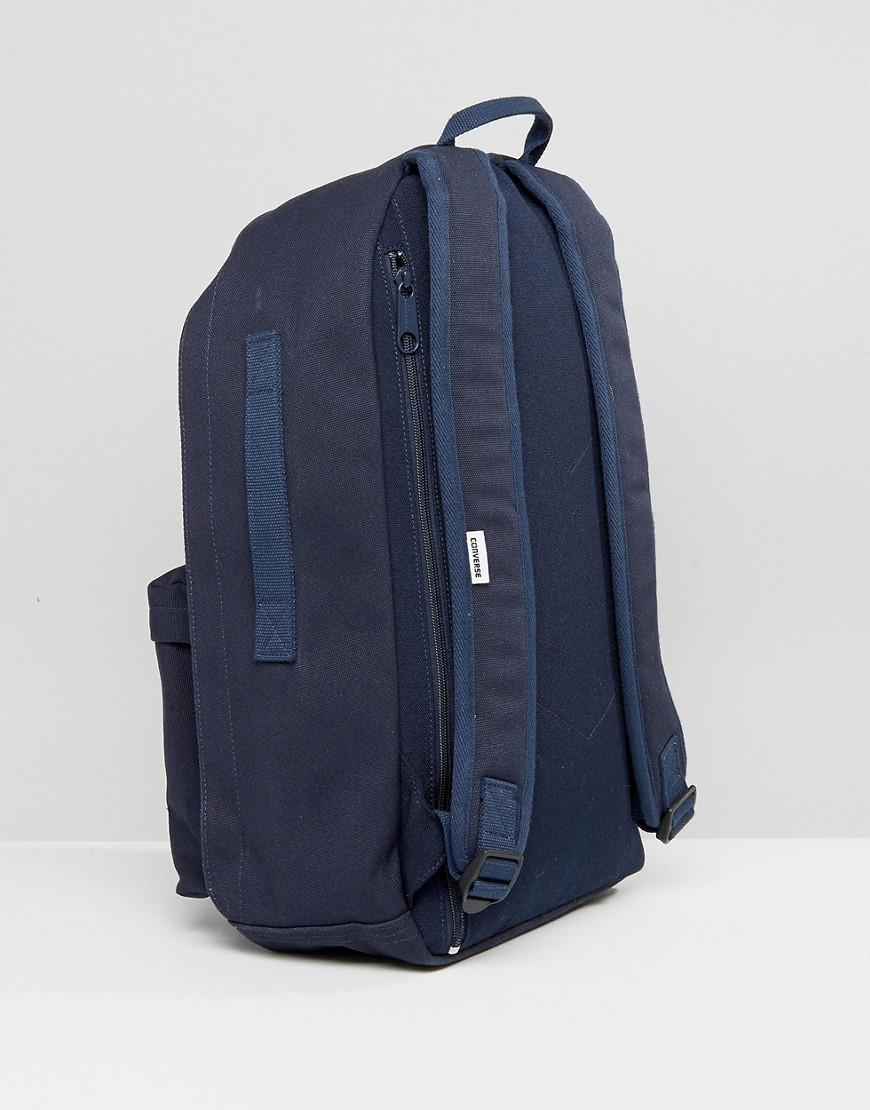 9955924b1ed6 Converse Essentials Backpack In Navy in Blue for Men - Lyst