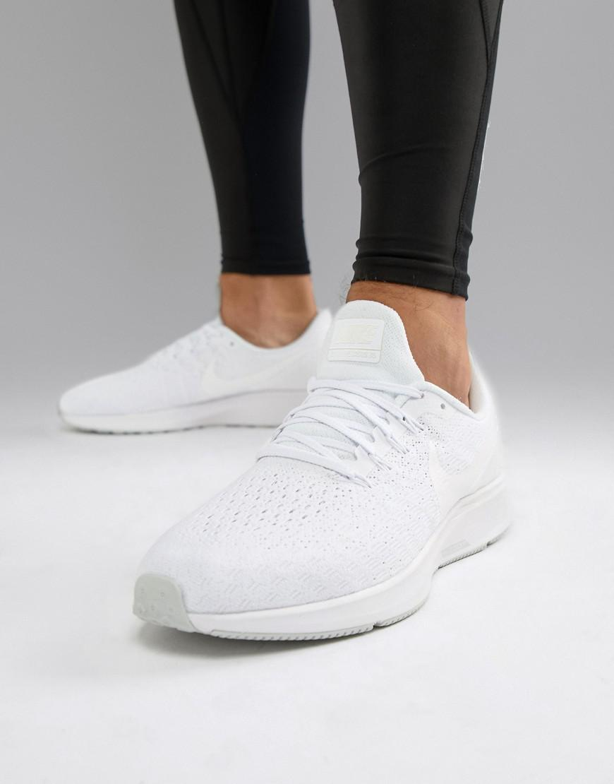 ae3daa74738a Nike Air Zoom Pegasus 35 Sneakers In Triple White 942851-100 in ...