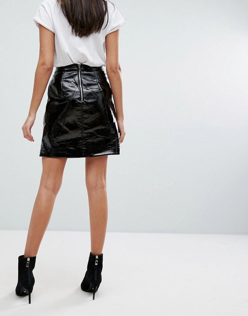 287e28550f Warehouse A Line Leather Skirt – DACC