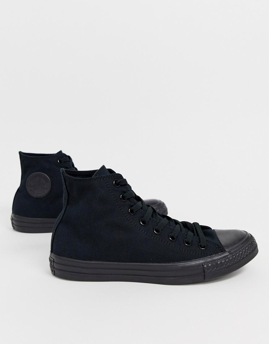 Lyst - Converse Chuck Taylor All Star Hi Sneakers In Black M3310c in ... 85e0fe526