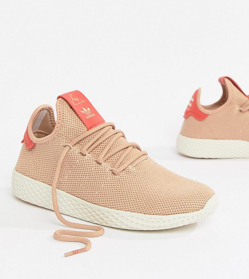 ad78563a8a66f Lyst - adidas Originals Pharrell Williams Tennis Hu Sneakers In Pink ...