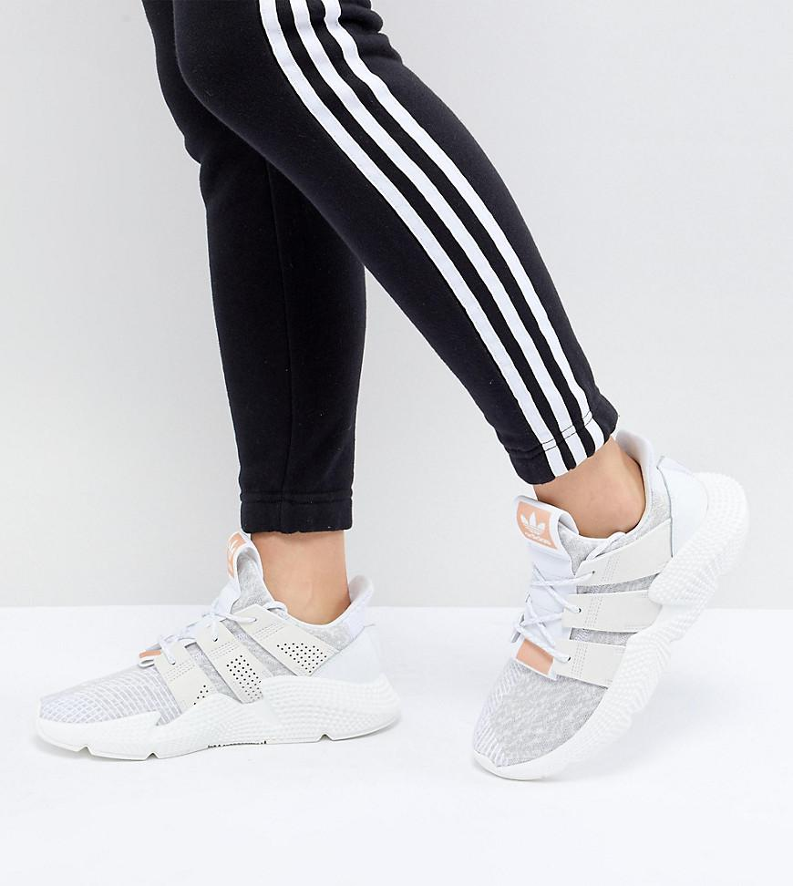 adidas Originals Prophere Sneakers In White in White - Lyst ae4732bec